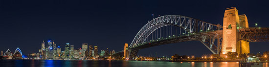 Photo from Kirribilli of the Sydney Harbour Bridge -  Photo by DAVID ILIFF. License: CC-BY-SA 3.0