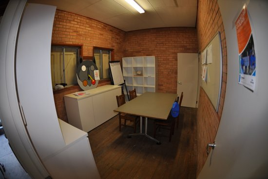 The meeting room has been completely refurbished with new furniture, courtesy of Lend Lease.